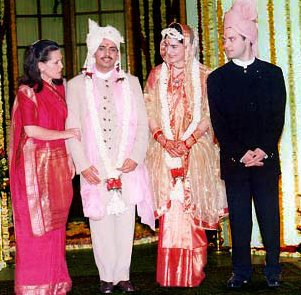 Priyanka Gandhi Marriage Photos