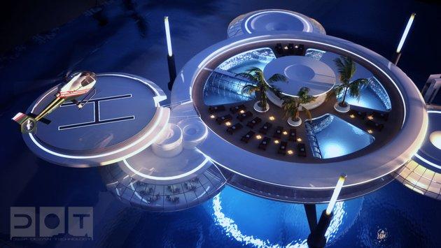 Dubai Reveals Plans For Amazing Underwater Hotel