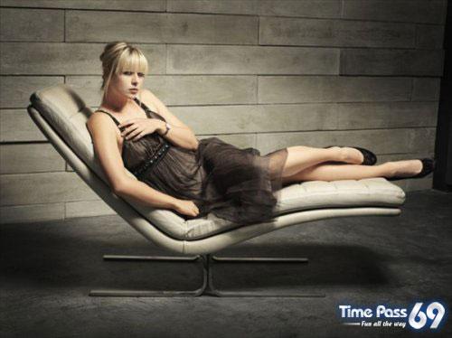 Maria Sharapova in Tag Heuer Ad Prints