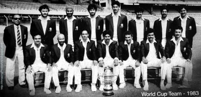 1983 World Cup Winners Great Kapil Dev