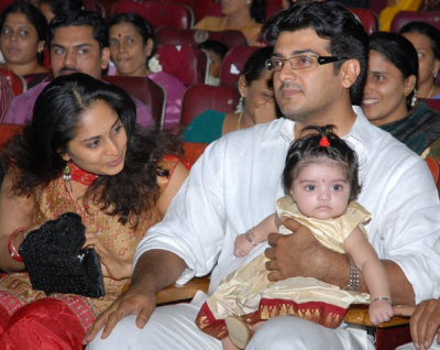 Ajith Kumar Shalini Anushka Family Photos
