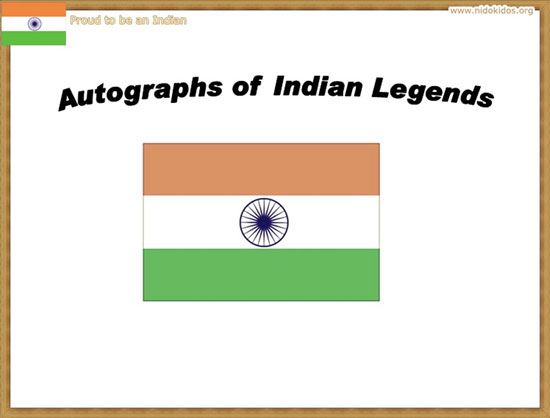 AutoGraphs of Indian Legends