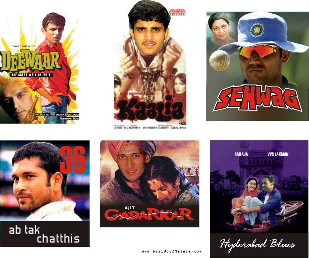Cricketers in Bollywood