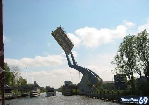 Flying Bridge  Amazing Bridge in Netherlands