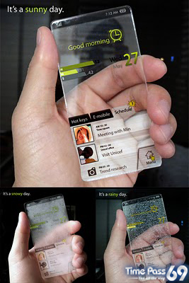 Futuristic Mobile Phone Concepts