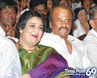 Family Photos of Rajinikanth