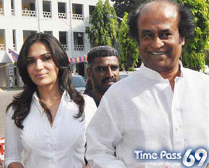 Family Photos of Rajinikanth