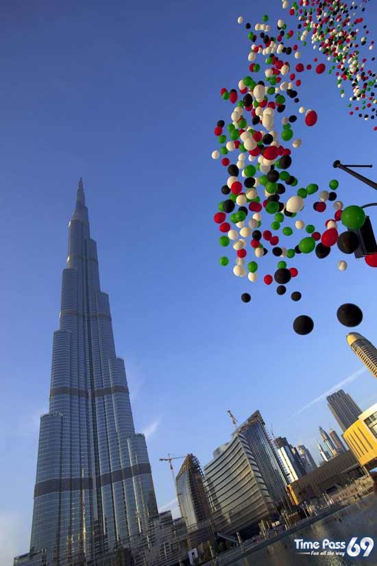 The World Tallest Tower Burj Khalifa