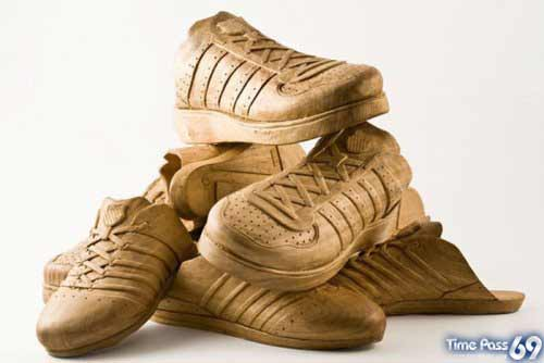 Wooden Shoes Creativety