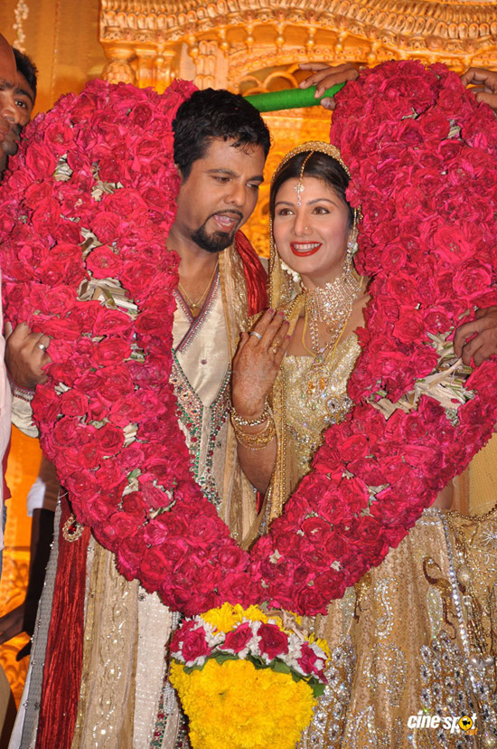 Rambha Grand Reception