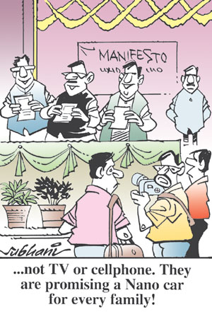 Deccan Chronicle Cartoons