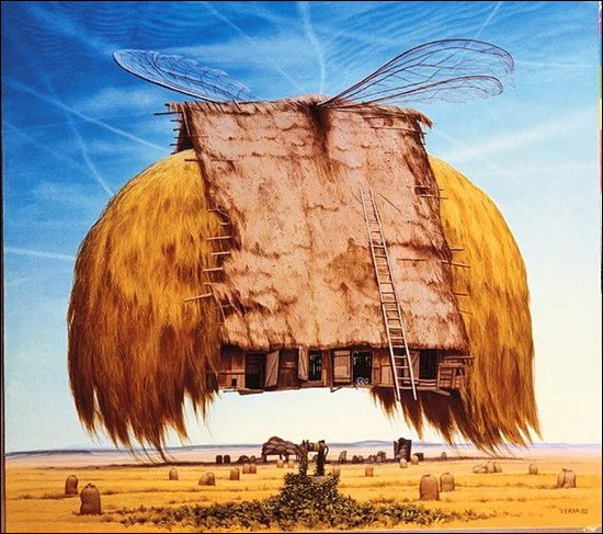 Fantastic illustrations by Jacek Yerka