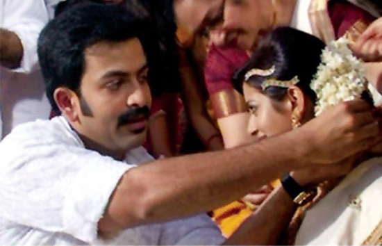 Actor Prithviraj Marriage Photos
