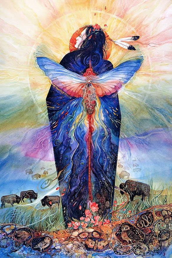 Colorful Watercolor Paintings Art