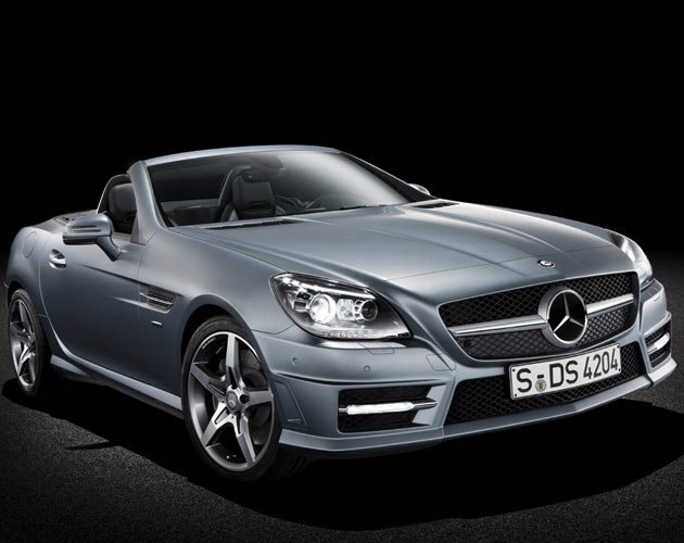 Mercedes-Benz Launches SLK350