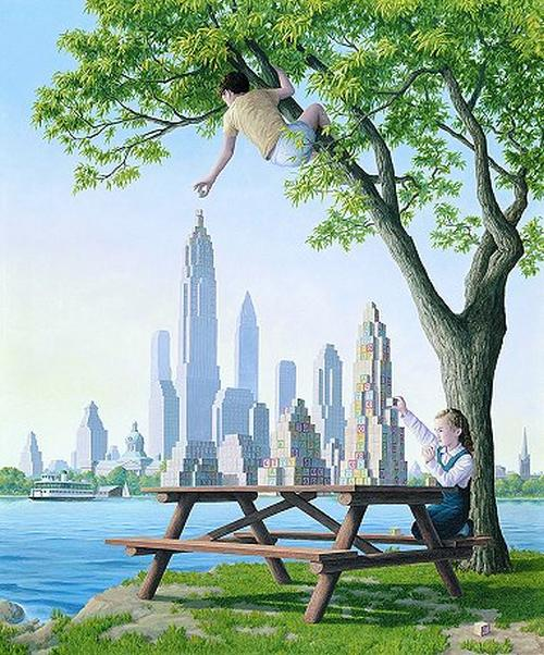 Illusion Images by Rob Gonsalves II
