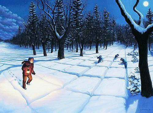 Illusion Images by Rob Gonsalves IV