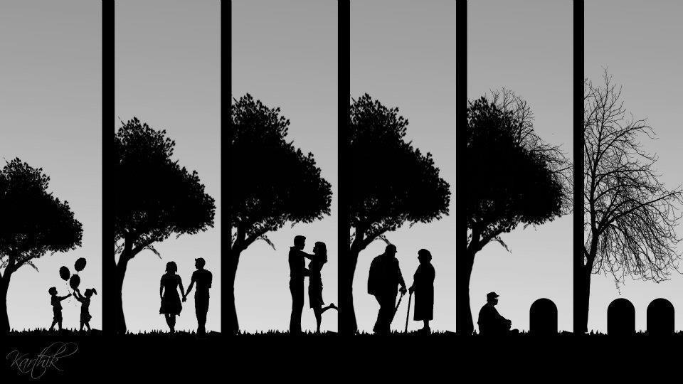 A Long Life Story Depicted in a Small Picture