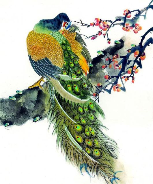 Awesome Peacock Paintings