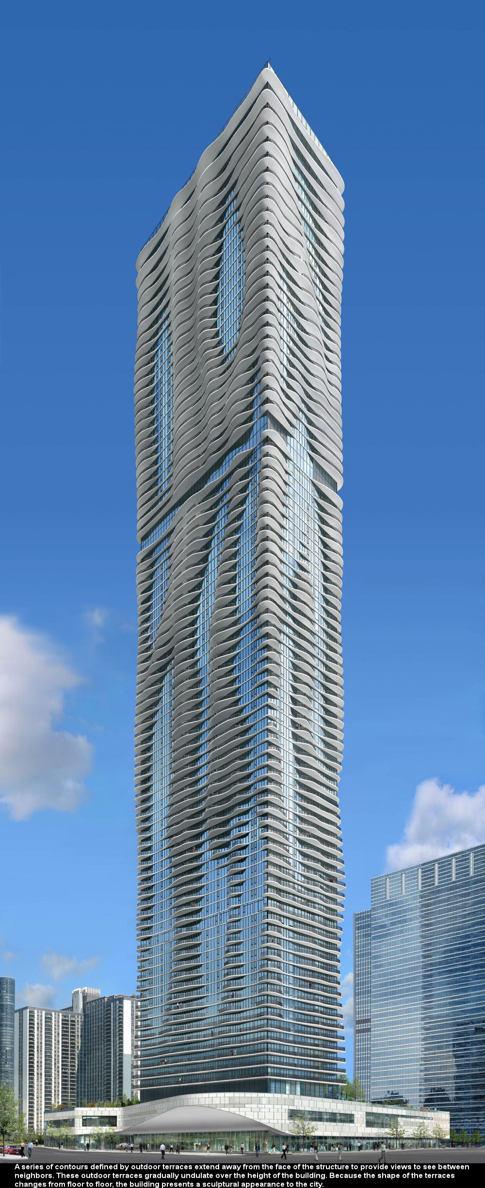 Beautiful Aqua Tower of Chicago