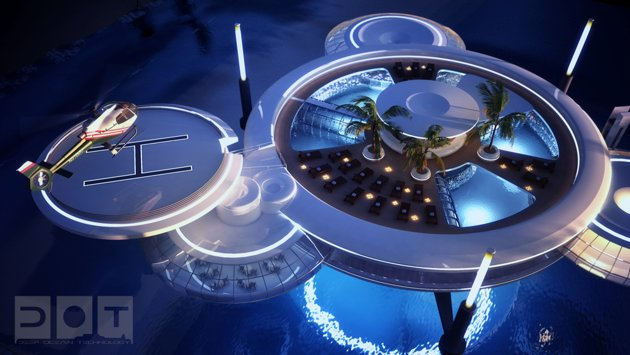 Dubai Reveals Plans For Amazing Underwater Hotel