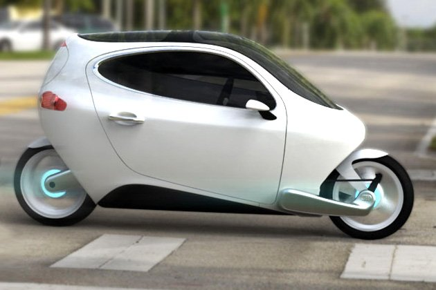 Now, A Two-wheeled, Self-balancing Car