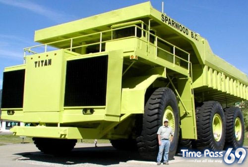 Gigantic Mine Truck