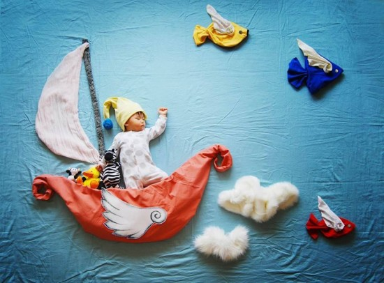 Creative Mom Turns her Baby Nap time Into An Amazing Adventure
