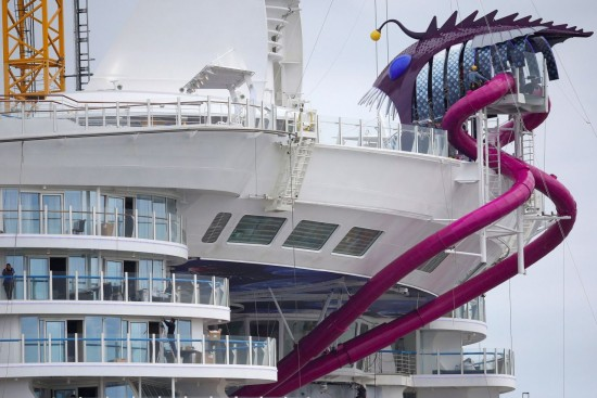 World's Biggest Cruise Ship The Harmony Of The Seas Arrives In Southampton