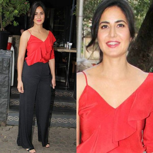 12 RED-iant looks of Katrina Kaif