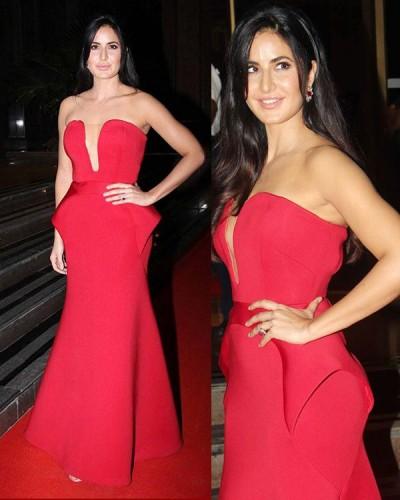 12 RED-iant looks of Katrina Kaif