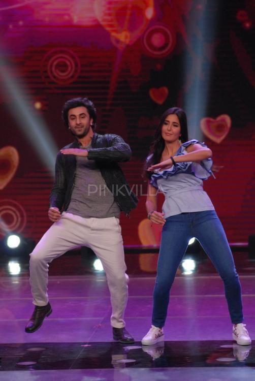 Ranbir Kapoor and Katrina Kaif shake a leg during Jagga Jasoos promotions