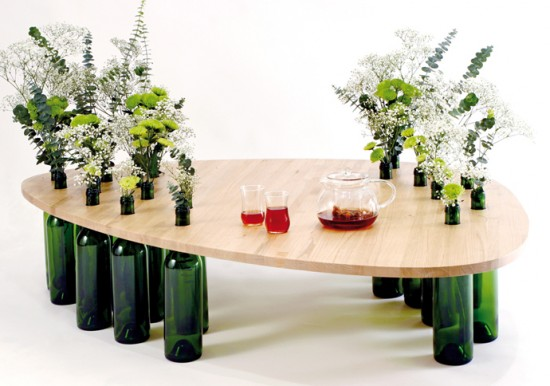 Magnificent Ways To Reuse Wine Bottles For Home Beautification