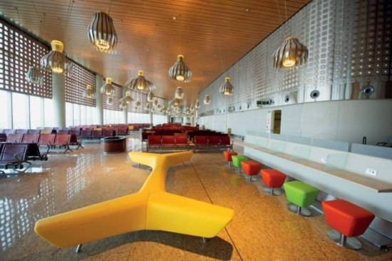Mumbai Airport's Swanky New Terminal