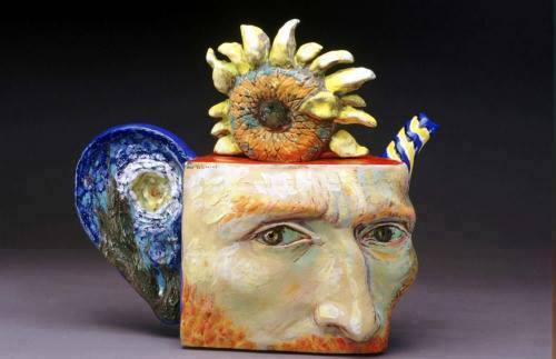Ceramic Tea Pots and Old Master Art of Noi Volkov