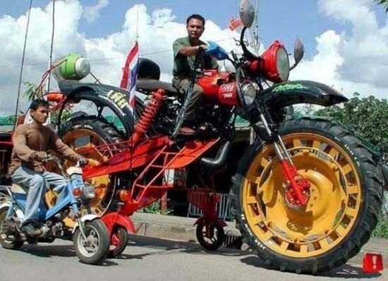 Crazy motorbikes that are more than just unusual