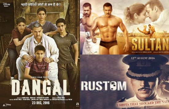 Bollywood Films That Crossed The Rs 100-Crore Mark In 2016