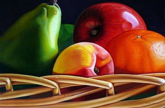 Spectacular Photorealistic Paintings