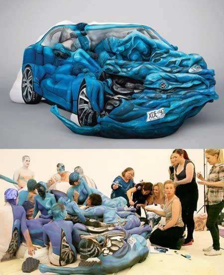Awesome Body Painting Body painting pictures