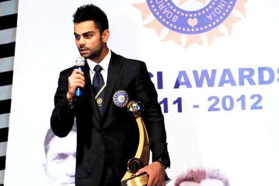 Top BCCI Award For Kohli