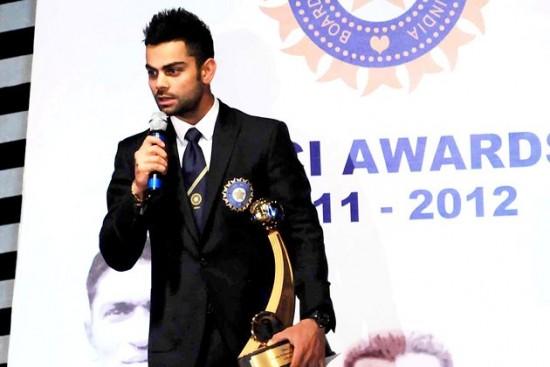 Top BCCI Award For Kohli
