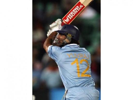 Yuvraj Singh Six 6s