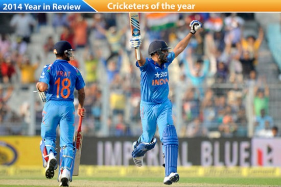 Cricketers of the year 2014