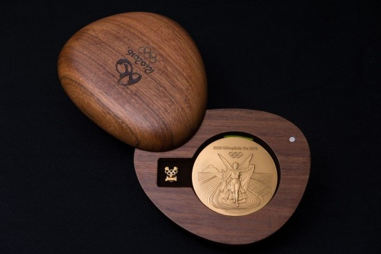 A look at the Rio 2016 Olympic medals