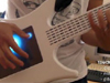 Futuristic Guitar With Touch Screen From Australia