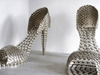 Joana Vasconcelos Stainless Steel Pot Shoes