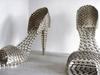Joana Vasconcelos Stainless Steel Pot Shoes